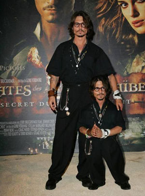 Johnny Depp's Mini-Me
